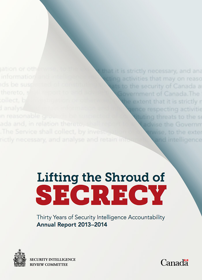 SIRC 2013-2014 Annual Report